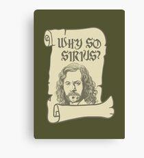 Why So Sirius? Canvas Print