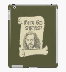 Why So Sirius? iPad Case/Skin