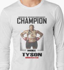 Mike Tyson - World Heavyweight Champion Long Sleeve T-Shirt
