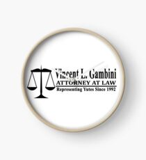 Vincent L Gambini - My Cousin Vinny Clock