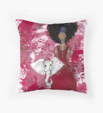 Delta Angel, Black Angels, African American Floor Pillow