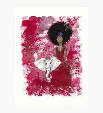Delta Angel, Black Angels, African American Art Print
