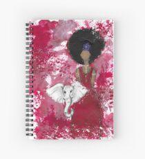 Delta Angel, Black Angels, African American Spiral Notebook