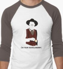 Tombstone: That's Just My Game Men's Baseball ¾ T-Shirt