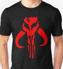 Mandalorian Skull Boba Fett Unisex T-Shirt