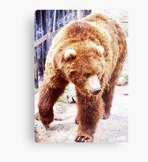 Feed Me Or Else! Canvas Print