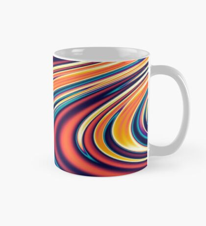 Color and Form Abstract - Solar Gravity and Magnetism 2 Mug