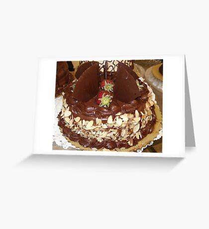 Janeymac's Cake Greeting Card