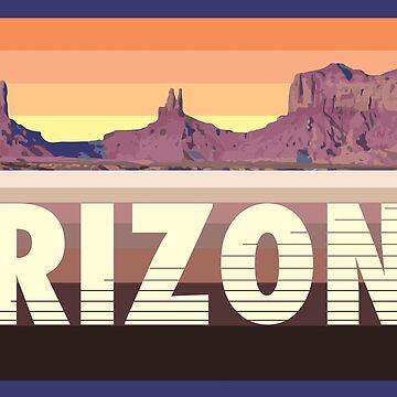 Arizona - Monument Valley von jackburnsghost