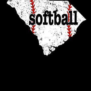South Carolina Youth Softball Slow Pitch Softball by shoppzee