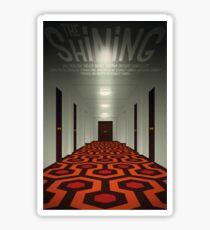 The Shining alternative movie poster Sticker