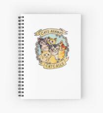 Cats Against Cat Call Merchnadise Spiral Notebook