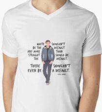 Love Simon - Quote Men's V-Neck T-Shirt