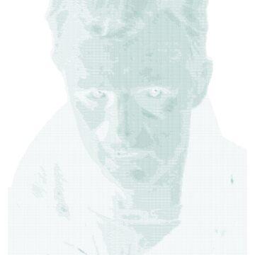 ASCII Roy Batty by MondoDellamorto