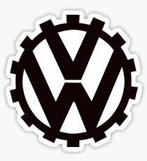 VW Volkswagen pre world war 2 vw emblem Sticker