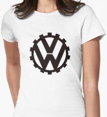 VW Volkswagen pre world war 2 vw emblem Women's Fitted T-Shirt