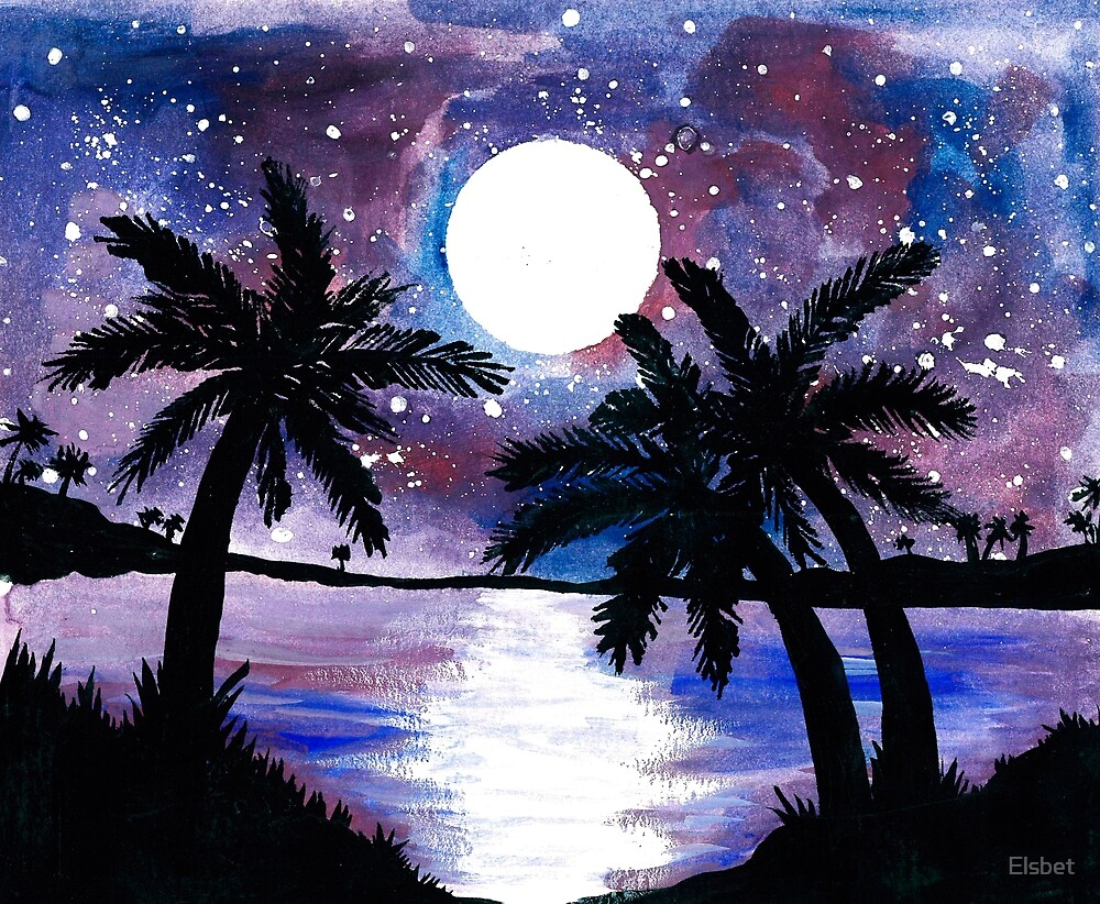 Tropical Night by Elsbet