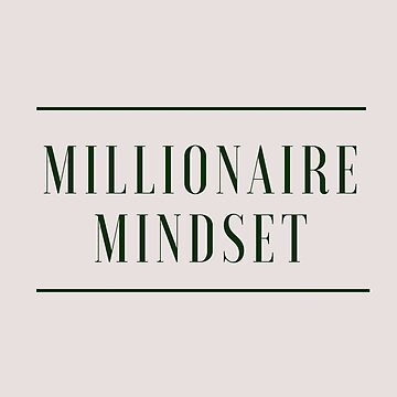 Do you have a Millionaire Mindset? (Design Day 95) by TNTs