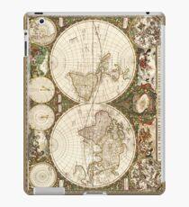 World map, 1660 iPad Case/Skin