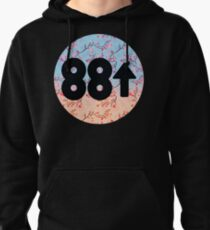 Cherry Blossoms 88Rising Logo Pullover Hoodie