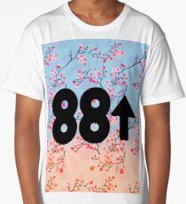 Cherry Blossoms 88Rising Logo Long T-Shirt