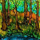 Leafy Spring by Angela Treat Lyon
