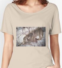Timber Wolves Fighting Women's Relaxed Fit T-Shirt