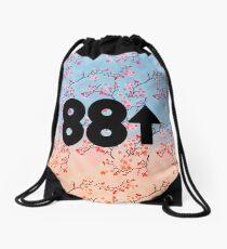 Cherry Blossoms 88Rising Logo Drawstring Bag