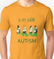 Autism 1 in 166 T-shirt Unisex T-Shirt