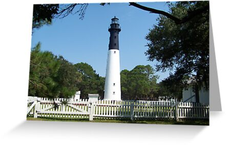 Hunting Island Lighthouse by Forget-me-not