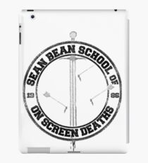 Sean Bean School of On Screen Deaths iPad Case/Skin