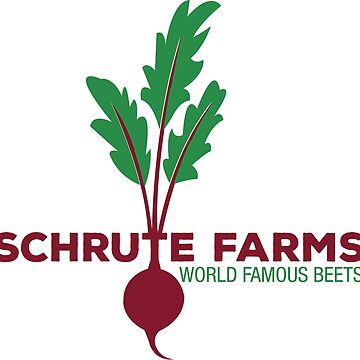 Schrute Farms Beets - The Office Sticker by ericbracewell