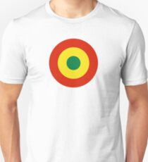 Roundel of Bolivian Air Force Slim Fit T-Shirt
