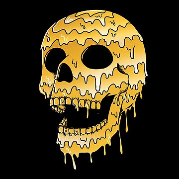 Gold Skull by coffeeman