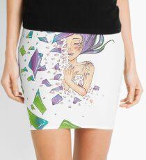 Shattered Mini Skirt