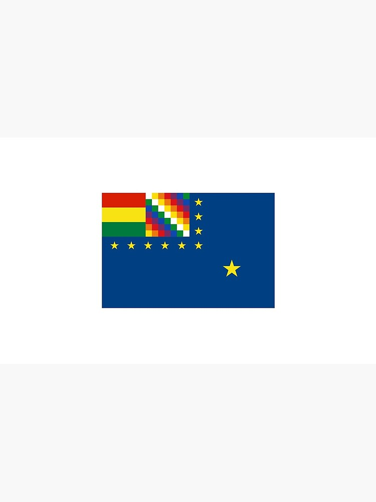 Naval Ensign of Bolivia  by ofmany