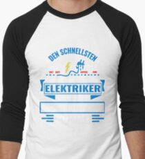 SCHLITZ - We have the best electricians, no one gets it so fast. Men's Baseball ¾ T-Shirt