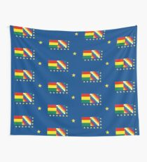 Naval Ensign of Bolivia  Wall Tapestry