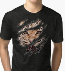 leopard Tri-blend T-Shirt