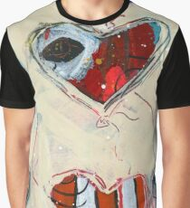 Floating Heart Balloons Graphic T-Shirt