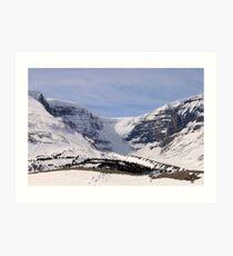 View of the Glacier Art Print