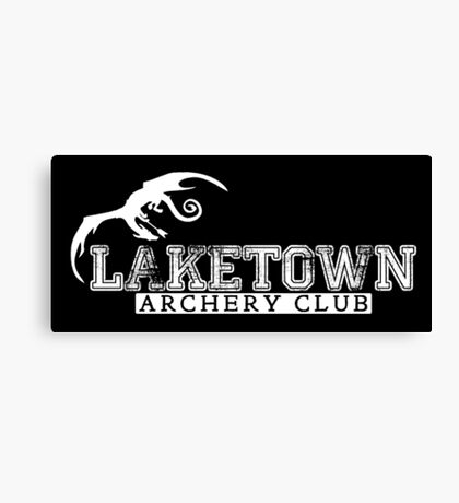Laketown Archery Club Canvas Print