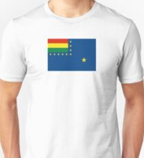 Naval Ensign of Bolivia, 1966-2013 Unisex T-Shirt