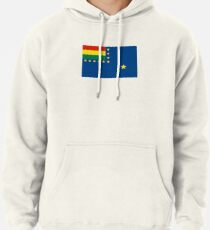 Naval Ensign of Bolivia, 1966-2013 Pullover Hoodie