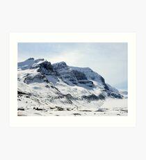 Icefields  Art Print