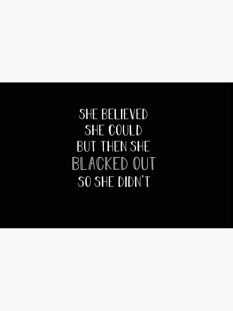 Ella creía que podía pero luego se desmayó de aahhbianca