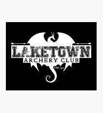Laketown Archery Club (Dark) Photographic Print