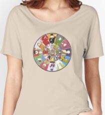 "Mr Benn. ""As if by magic, the Shopkeeper appeared."" Women's Relaxed Fit T-Shirt"