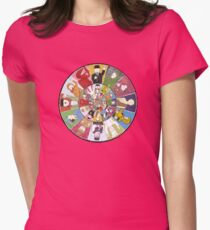 """Mr Benn. """"As if by magic, the Shopkeeper appeared."""" Womens Fitted T-Shirt"""