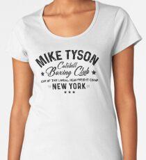Mike Tyson - Catskill Boxing Club - Black Women's Premium T-Shirt